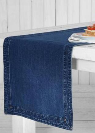 Раннер скатерть- дорожка джинсовая от tchibo германия