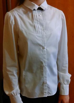 Блуза школьная для девочки юность, р.158-164