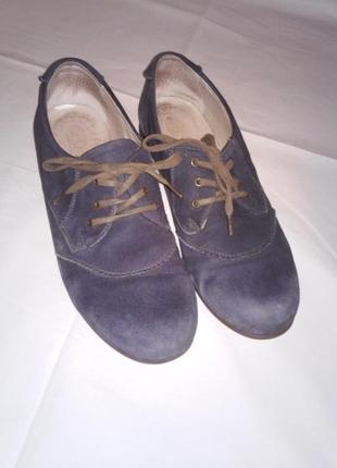 Туфли женские irbis, размер 39, замша