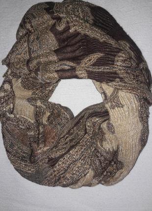 Двухсторонний шарф палантин