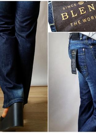 Распродажа!! джинсы бойфренды прямые прямого кроя синие с высокой посадкой р 26-27-28
