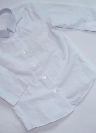 Рубашка приталенная для девочки на 5-6 лет рост 110-116 см george англия