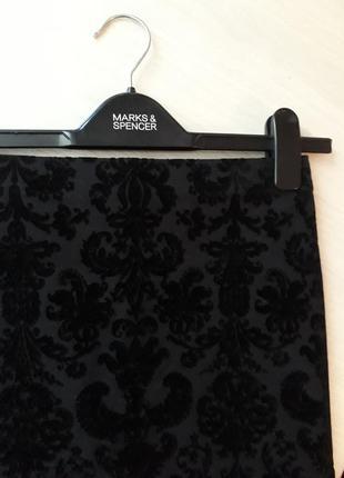 Демисезонная юбка marks & spencer, размер 8