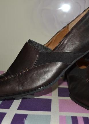 Шикарные и нарядные туфли gabor comfort натуральная кожа