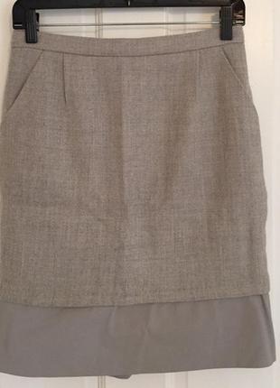 Bcbg max azria юбка шерсть