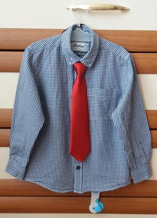 Рубашка на мальчика rebel, рубашка на 3-4 годика