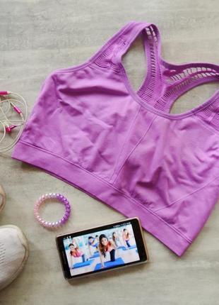 Спортивный спорт топик топ athletic works фиолетовый бег фитнес пилатес волейбол