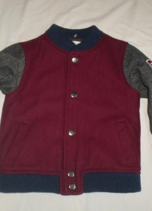 Куртка американка бомбер mco kids 3-4г. 104 см