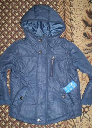 Демисезонная куртка nutmeg 3-4 г. 104-110 см  весна-осень