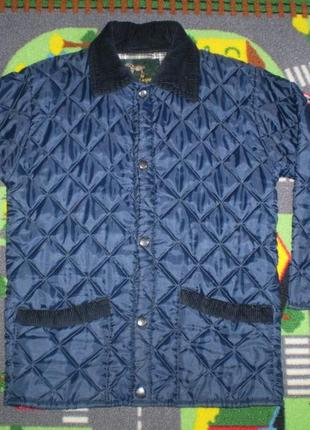 Демисезонная стеганая куртка campbell cooper (англия)  указан р. 32