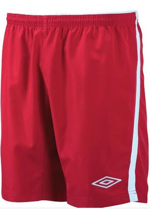 Оригинал спортивные шорты подростковые красные umbro braven. рост 158см.