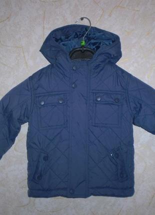 Демисезонная куртка tu 1-1.5 ,80-86 см (будет и дольше )