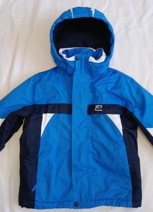 Демисезонная термо куртка next 6 лет 116 см