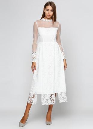Платье silvian heach. миди