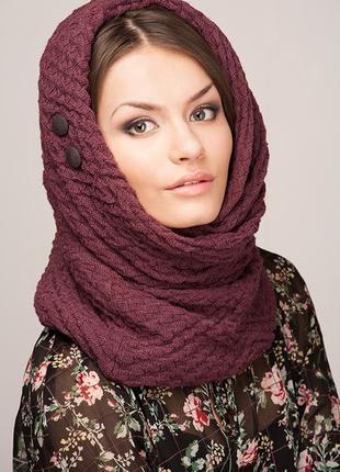 Снуд bershka капор шарф