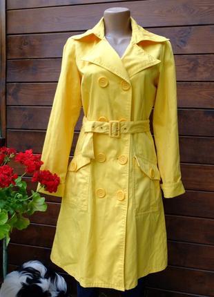 Тренч плащ пальто, размер m, испания, бренд vero moda