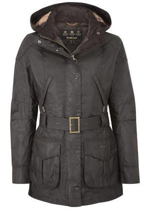 Barbour куртка вощенная женская