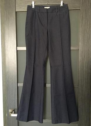 H&m классические брюки клеш высокая посадка