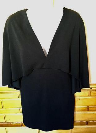 Шикарне чорне міні плаття