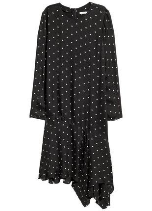 Платье шелковое h&m