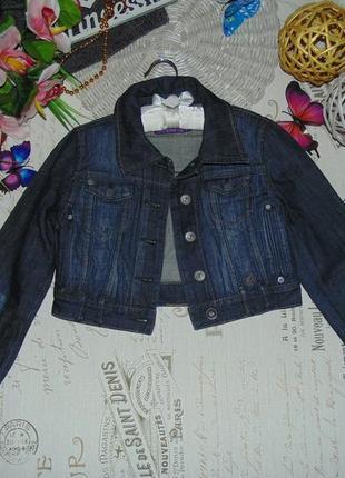 10-11лет.джинсовая ветровка пиджак s.oliver.мега выбор обуви и одежды!