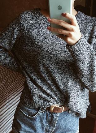 Вязанный свитер джемпер h&m s