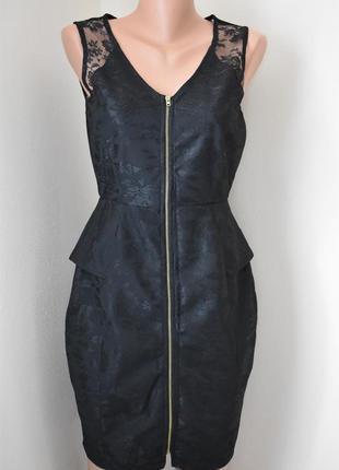 Новое кружевное платье-карандаш warehouse