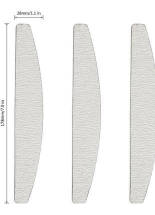 Пилка пилочка для ногтей 100/100 банан без маркировки