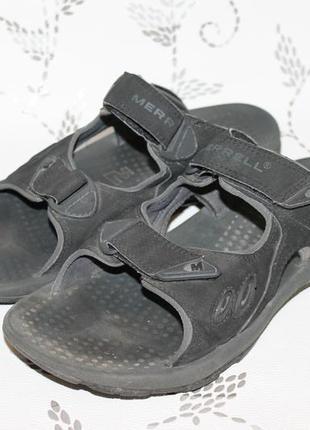 Спортивные шлепанцы/сандали merrell 45 размер 30 см стелька