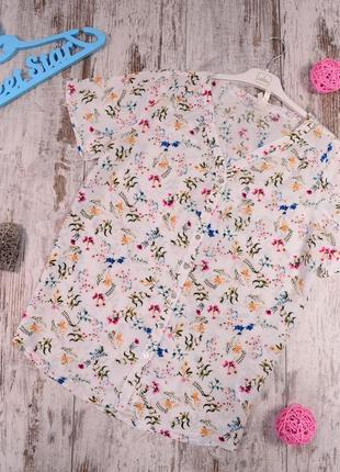 Цветочная блуза defacto