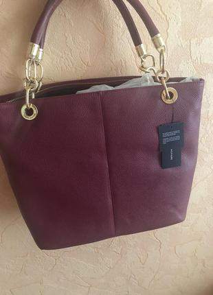 Кожаная сумка tommy hilfiger
