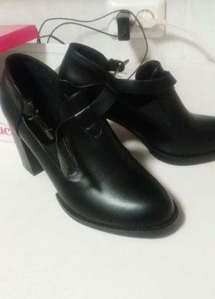 Ботинки, туфли, ботильоны, 25,5 см, устойчивый каблук