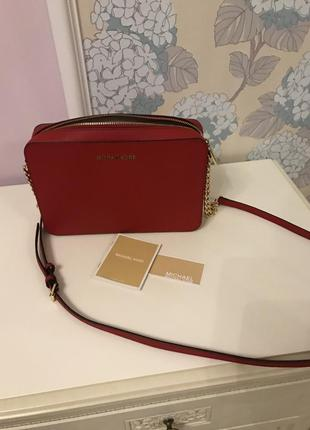Сумка michael kors jet set travel crossbody оригинал
