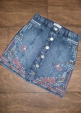 Стильная модная джинсовая юбка ( а так же большой выбор свитеров , джинсов и др )