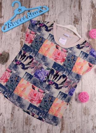 Комбинированная блуза next