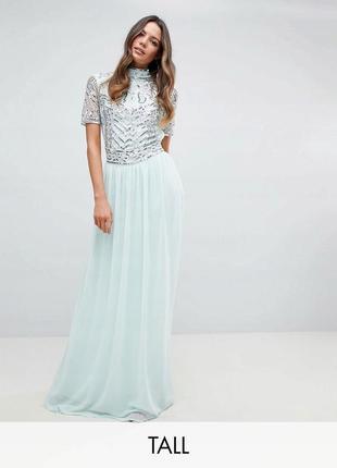 🍀🌷💖 весняний розпродаж!frock and frill сукня розшита паєтками та бісером  доставка сутки