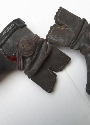 Shoesme деми ортопедические сапоги девочке р.22-13,5см кожа голландия