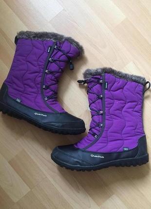 Термо сапоги ботинки quechua
