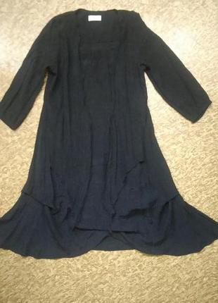 Легкое платье туника бохо оверсайз i.say р.xs (дания). можно и больше.