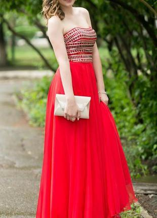 Sherri hill выпускное платье