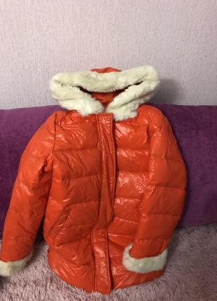 Курточка зимняя для девочки куртка