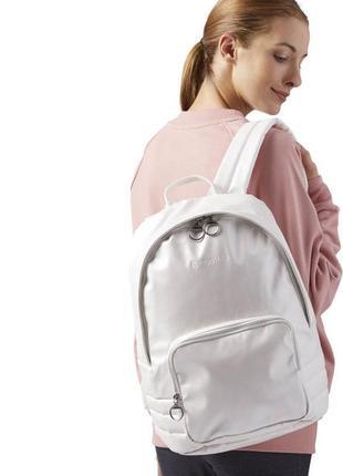 Перламутровый женский городской рюкзак reebok classics- оригинал