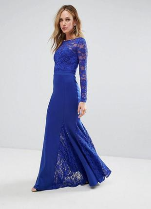 Ліквідація товару до 10 лютого !!!  платье макси с юбкой годе  city goddess