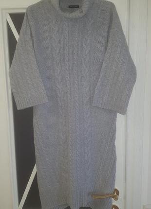 Теплое платье massimo dutti