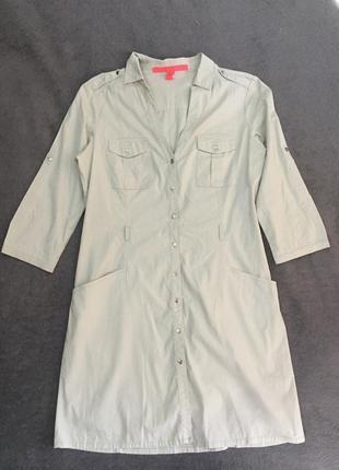 Платье-рубашка от mango