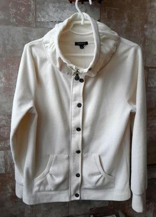 Amisu флисовая куртка на молнии