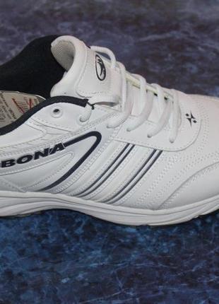 Быстрая распродажа! кроссовки мужские натур. кожа bona 42,46 размер