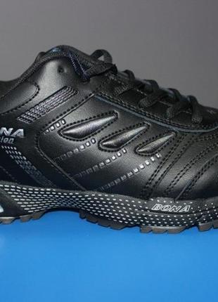 Быстрая распродажа! кроссовки мужские натур.кожа bona 45,46 размер