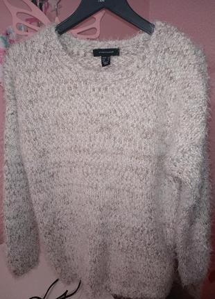 Ворсистый,пушистый свитер atmosphere