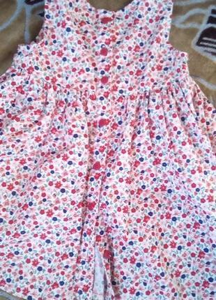 Плаття  на дівчинку 9 -12 міс. фірмене